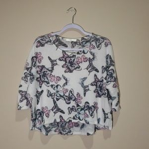 Loose Butterfly Shirt/Shrug